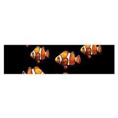 Clown fish Satin Scarf (Oblong)