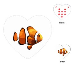 Clown fish Playing Cards (Heart)