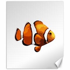 Clown fish Canvas 8  x 10