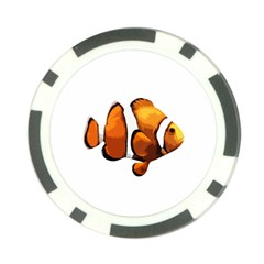 Clown fish Poker Chip Card Guard