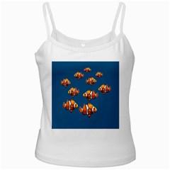 Clown fish White Spaghetti Tank