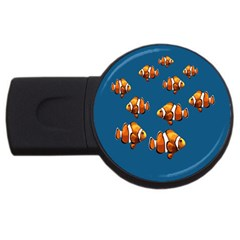 Clown fish USB Flash Drive Round (2 GB)