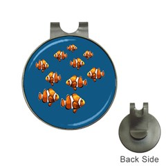 Clown fish Hat Clips with Golf Markers