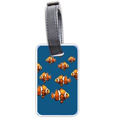 Clown fish Luggage Tags (One Side)