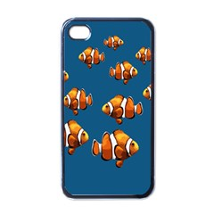 Clown fish Apple iPhone 4 Case (Black)