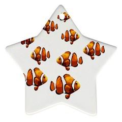 Clown fish Ornament (Star)