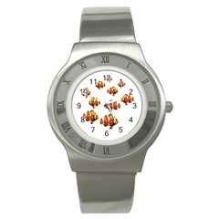 Clown fish Stainless Steel Watch