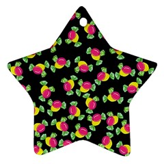 Candy pattern Ornament (Star)