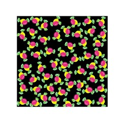 Candy pattern Small Satin Scarf (Square)