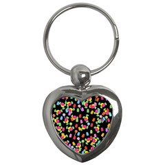 Candy pattern Key Chains (Heart)