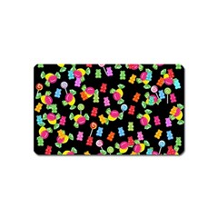 Candy pattern Magnet (Name Card)