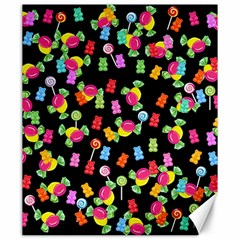 Candy pattern Canvas 20  x 24