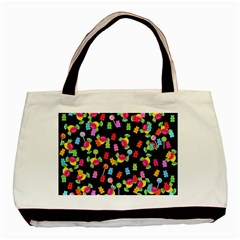 Candy pattern Basic Tote Bag (Two Sides)