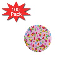 Candy pattern 1  Mini Magnets (100 pack)