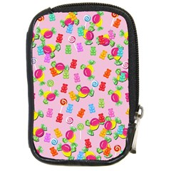 Candy pattern Compact Camera Cases