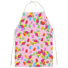 Candy pattern Full Print Aprons