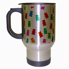 Candy pattern Travel Mug (Silver Gray)