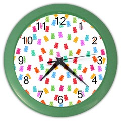 Candy pattern Color Wall Clocks