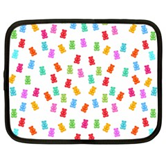Candy pattern Netbook Case (Large)