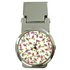 Candy pattern Money Clip Watches