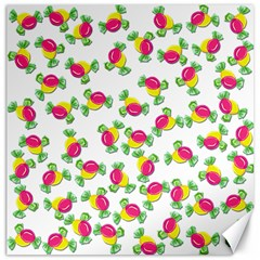 Candy pattern Canvas 20  x 20