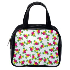 Candy pattern Classic Handbags (One Side)