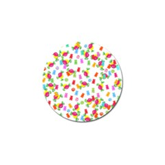 Candy pattern Golf Ball Marker (10 pack)