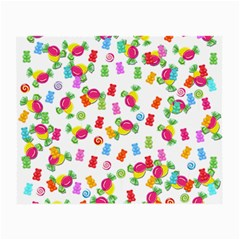 Candy pattern Small Glasses Cloth (2-Side)