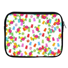 Candy Pattern Apple Ipad 2/3/4 Zipper Cases