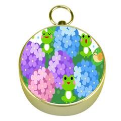 Animals Frog Face Mask Green Flower Floral Star Leaf Music Gold Compasses