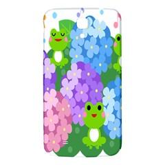 Animals Frog Face Mask Green Flower Floral Star Leaf Music Samsung Galaxy Mega I9200 Hardshell Back Case