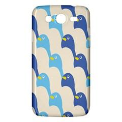 Animals Penguin Ice Blue White Cool Bird Samsung Galaxy Mega 5.8 I9152 Hardshell Case