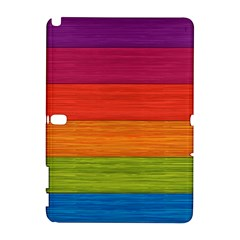 Wooden Plate Color Purple Red Orange Green Blue Galaxy Note 1