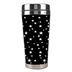 Black Star Space Stainless Steel Travel Tumblers