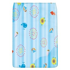 Animals Whale Sunflower Ship Flower Floral Sea Beach Blue Fish Flap Covers (s)