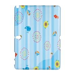 Animals Whale Sunflower Ship Flower Floral Sea Beach Blue Fish Galaxy Note 1