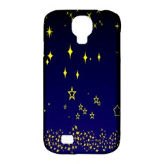 Blue Star Space Galaxy Light Night Samsung Galaxy S4 Classic Hardshell Case (pc+silicone)