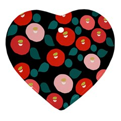 Candy Sugar Red Pink Blue Black Circle Ornament (heart)