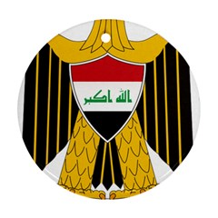 Coat of Arms of Iraq  Ornament (Round)