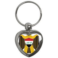 Coat of Arms of Iraq  Key Chains (Heart)