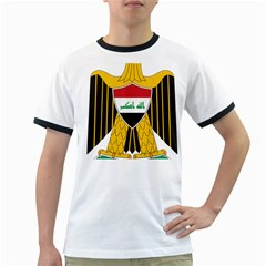 Coat of Arms of Iraq  Ringer T-Shirts