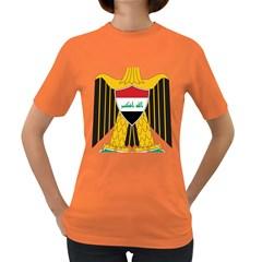 Coat of Arms of Iraq  Women s Dark T-Shirt