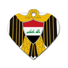 Coat of Arms of Iraq  Dog Tag Heart (One Side)