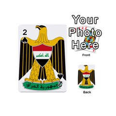 Coat of Arms of Iraq  Playing Cards 54 (Mini)