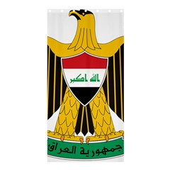 Coat of Arms of Iraq  Shower Curtain 36  x 72  (Stall)