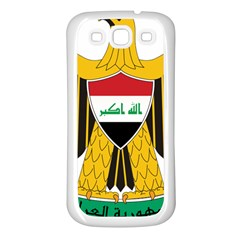 Coat of Arms of Iraq  Samsung Galaxy S3 Back Case (White)