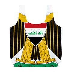 Coat of Arms of Iraq  Full Print Recycle Bags (L)
