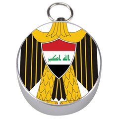 Coat of Arms of Iraq  Silver Compasses