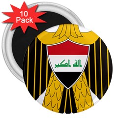 Coat of Arms of Iraq  3  Magnets (10 pack)