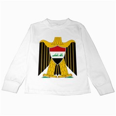 Coat of Arms of Iraq  Kids Long Sleeve T-Shirts